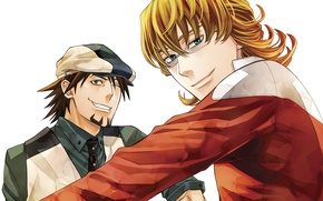 Picture anime, art, guys, Tiger and Bunny, tiger and bunny