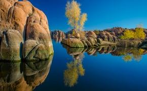 Picture lake, reflection, AZ, Watson Lake