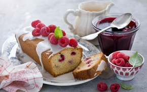Picture raspberry, food, cake, cake, cake, cream, dessert, food, sweet, cream, dessert, raspberries