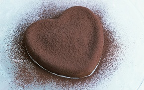 Picture love, heart, chocolate