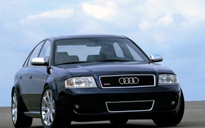 Picture audi, Wallpaper, the front, sedan, rs6
