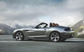 Picture Auto, BMW, Machine, Convertible, Grey, BMW, Coupe, Zagato, Side view