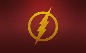 Picture lightning, logo, logo, hq Wallpapers, Flash