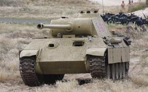 Picture action, Panther, tank, sahara2014