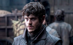 Picture game of thrones, Iwan Rheon, Ramsay Bolton