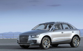 Picture Audi, Coupe, crossover, Cross