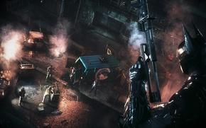Picture Batman Arkham Knight, DCcomics, Gopnik