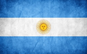 Picture color, the sun, flag, Argentina, flag, argentina