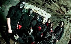 Picture group, Metal, Rock, Slipknot, musicians, Nu metal, Alternative metal