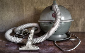 Picture background, wall, vacuum cleaner