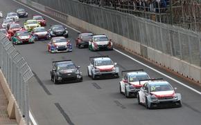 Picture race, Citroen, the leader, Sebastien Loeb, WTCC, C-Elysee, Yvan Muller, Jose Maria Lopez