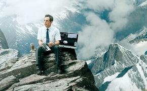 Picture Mountains, Ben Stiller, Men, Ben Stiller, The secret life of Walter Mitty, The Secret Life …