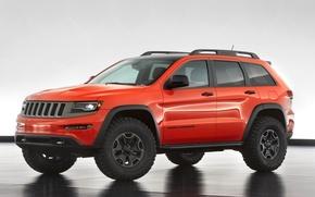 Picture auto, Concept, SUV, the concept, Jeep, Grand Cherokee, Trailhawk II