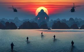 Wallpaper The film, Movie, Kong: Skull Island, King Kong: Skull Island