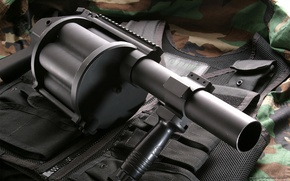 Picture Weapons, grenade launcher, bronezhelet, shell