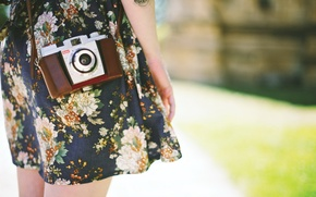 Picture girl, macro, cameras