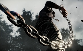 Picture nature, chain, guy, inFamous: Second Son, Delsin Rowe, Delsin Rowe, Sucker Punch Productions, Sony Computer …