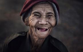 Picture joy, portrait, Thailand, Smile, model)