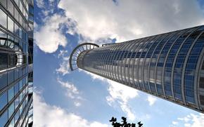 Picture the building, construction, architecture, skyscraper, skyscraper