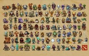 Picture Dota 2, Phoenix, Doom, Centaur Warrunner, Elder Titan, Tusk, Night Stalker, Chaos Knight, Sven, Pudge, …