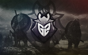 Picture logo, Counter-Strike, League of Legends, the Vikings, csgo, Global Offensive, eSports, Heroes of the Storm, …