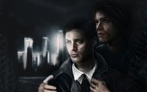 Picture painting, supernatural, Dean, SEM