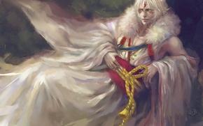 Picture pose, claws, lies, guy, ears, art, madara, natsume yuujinchou, hkun villain, the Natsume book of …