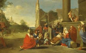 Picture picture, mythology, Bartholomew, Brinberg, The Adoration Of The Magi