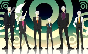 Picture naruto, bleach, one piece, devil may cry, dante, gintama, hatake kakashi, sakata gintoki, smoker, seta …