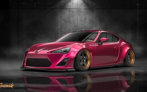 Picture Design, Raspberry, by Gurnade, Toyota. GT86