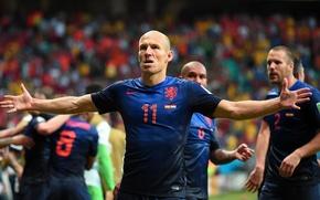 Picture Sport, Football, Netherlands, Brazil, Football, Sport, Player, Goal, Brasil, Player, Nederland, Arjen Robben, Arjen Robben, …
