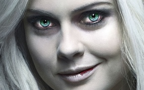 Picture Girl, Beautiful, Green, the, Smile, White, Bloody, and, The, Wallpaper, Eyes, Dead, Horror, Year, Skin, …
