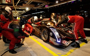 Picture Audi, the mans, pit stop, Ultra