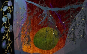 Picture abstraction, color, form