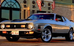Picture mustang, ford, air, ram, 351, do