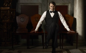 Picture character, actor, Mads Mikkelsen, Hannibal Lecter