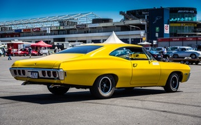 Picture yellow, Chevrolet, classic, Caprice, 350