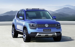 Picture Concept, Blue, 4x4, Volkswagen Taigun