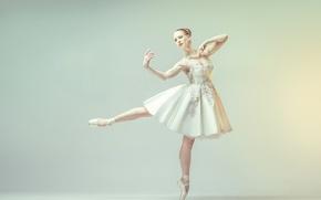 Wallpaper ballerina, Buenos Aires, Larisa Hominal, Argentina