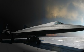 Picture scout, Blackbird, Lockheed, SR-71