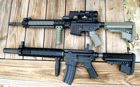 Picture Board, machines, Ar-15, assault rifles, STAG-15