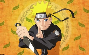 Picture look, weapons, background, Naruto, Naruto