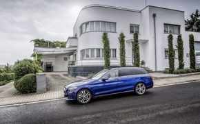 Picture Mercedes-Benz, Mercedes, 2014, Estate, S205, Avantgarde, C 250
