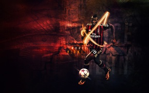 Picture wallpaper, sport, football, player, AC Milan, Mbaye Niang