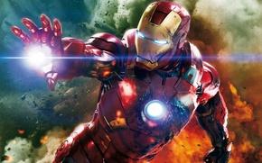 Picture costume, superhero, Iron Man, The Avengers, Iron Man