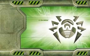Picture Spider, Web, Green, Spider, Doctor, Gateway, Antivirus, Antivirus, DrWeb, Gateway