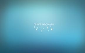 Picture drops, rain, the inscription, minimalism, words, rain, minimalism, words, 1920x1080, drops, lettering