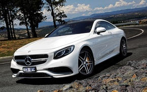 Picture Mercedes, AMG, Style, White, Tuning, S63, Mercedes Benz S63 AMG, Mercedes S63