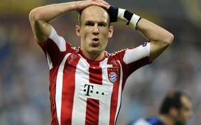 Picture football, Bayern, Robben