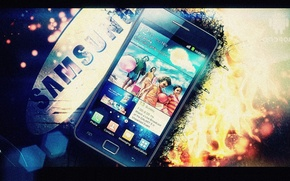 Picture galaxy, samsung, sii